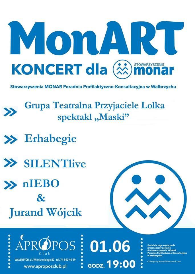 Wałbrzych: Koncert charytatywny dla wałbrzyskiego Monaru już dziś
