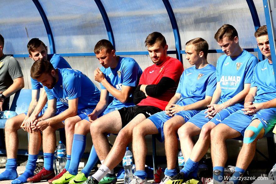 Wałbrzych: IV liga piłkarska: Zwycięstwo na koniec sezonu