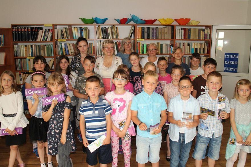 REGION, Mieroszów: Mieroszowskie dzieci spotkały się z pisarką