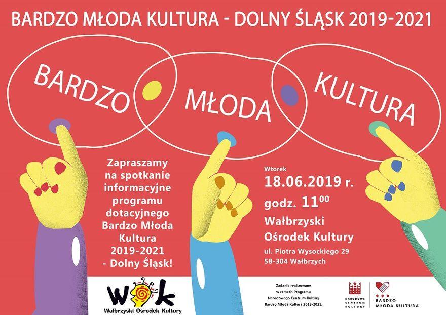 Wałbrzych: Bardzo Młoda Kultura 2019–2021 to projekt, który będzie realizowany w Wałbrzychu