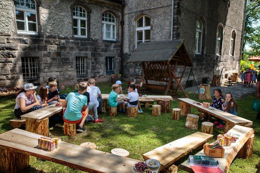 REGION, Mieroszów: Mieroszowski las edukacyjny otwarty