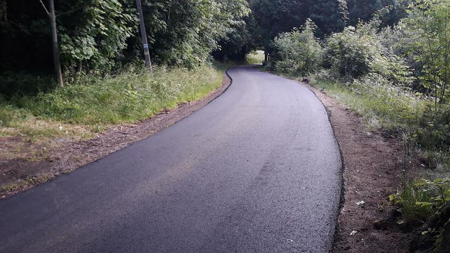 powiat wałbrzyski: Walim z odnowionymi drogami