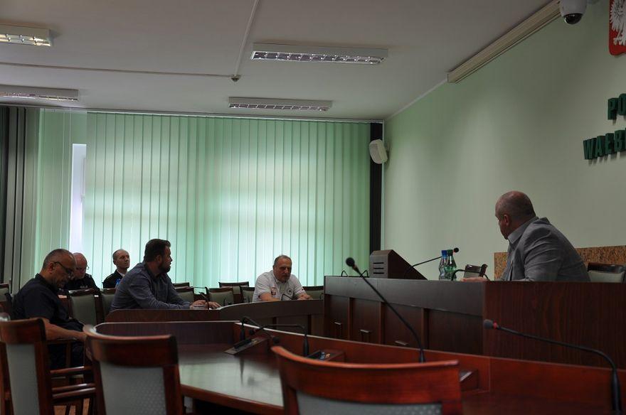 powiat wałbrzyski: Rozmawiali na temat bezpieczeństwa
