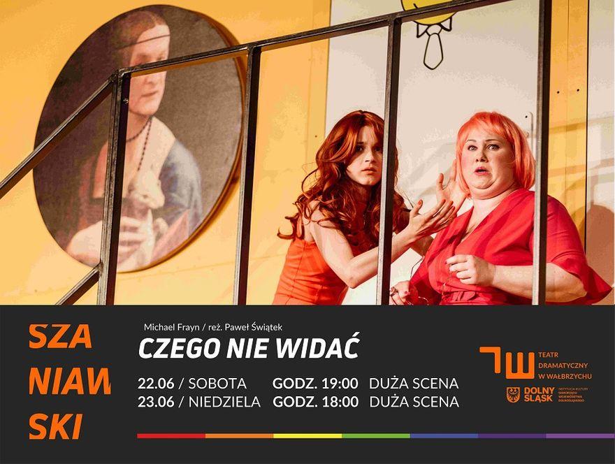Wałbrzych: Śmiech w Szaniawskim