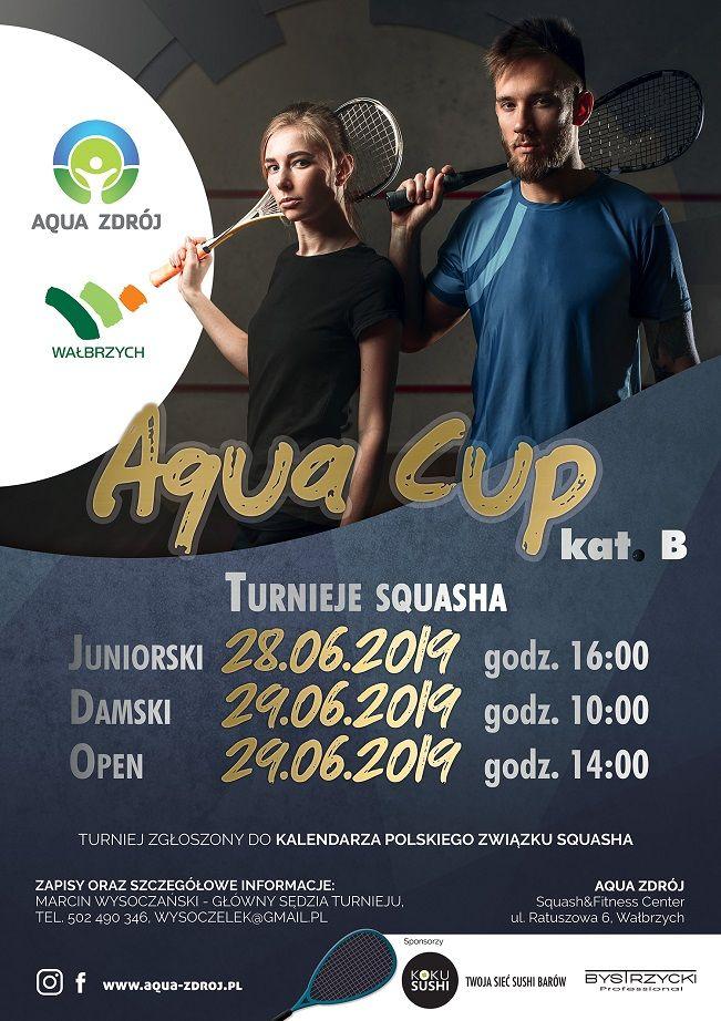 Wałbrzych: Turniej squasha