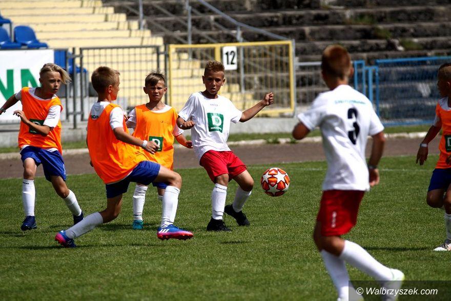 Wałbrzych: Piłkarskie święto dzieci