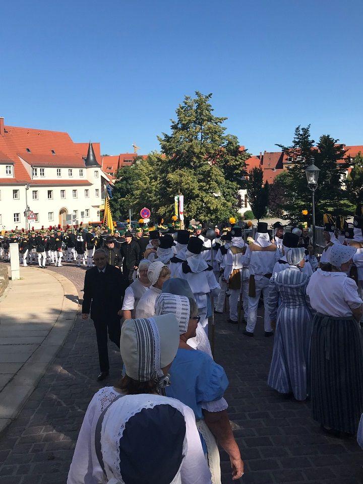 Wałbrzych/Europa: Górnicy we Freibergu