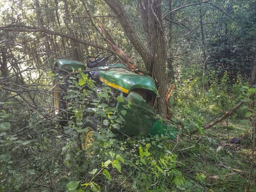 REGION, Unisław Śląski: Traktor na rolniku