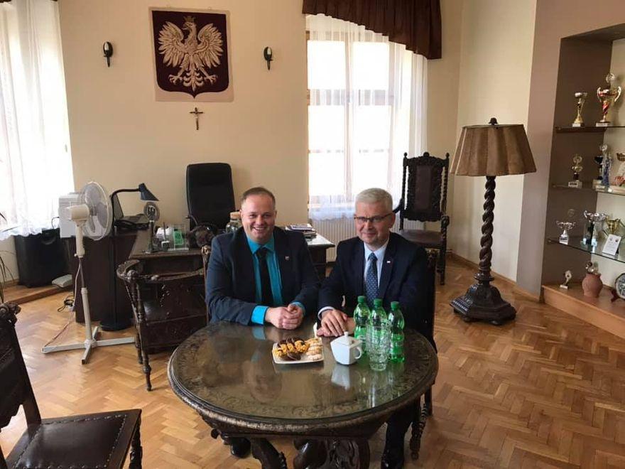 REGION, Boguszów-Gorce: Poseł z wizytą