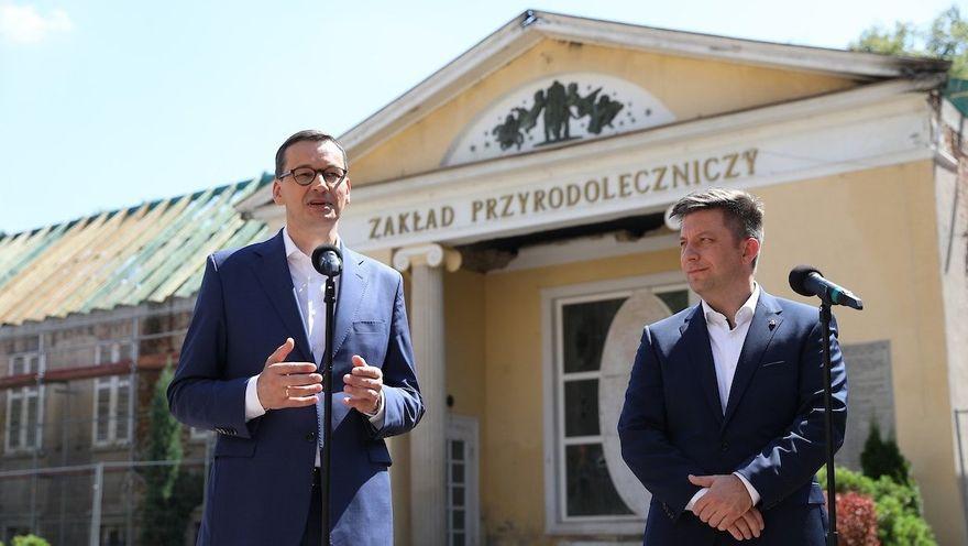 REGION, Szczawno-Zdrój: Dołożą do odbudowy