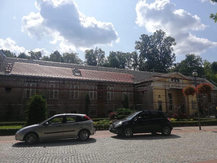 REGION, Szczawno-Zdrój: Już widać dach