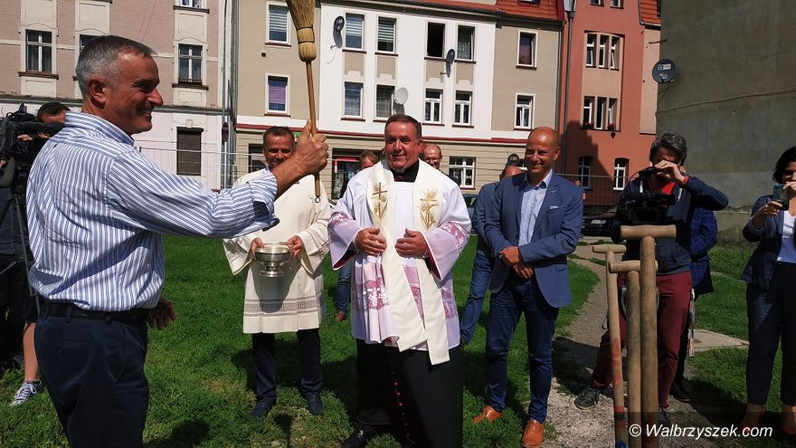 Wałbrzych: Budują na Staszica