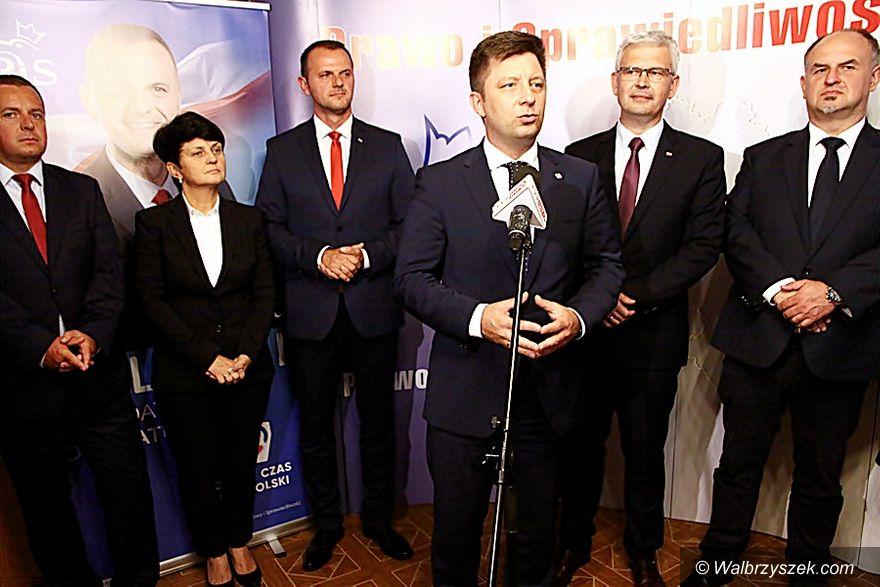 Wałbrzych: PiS przedstawiło kandydatów