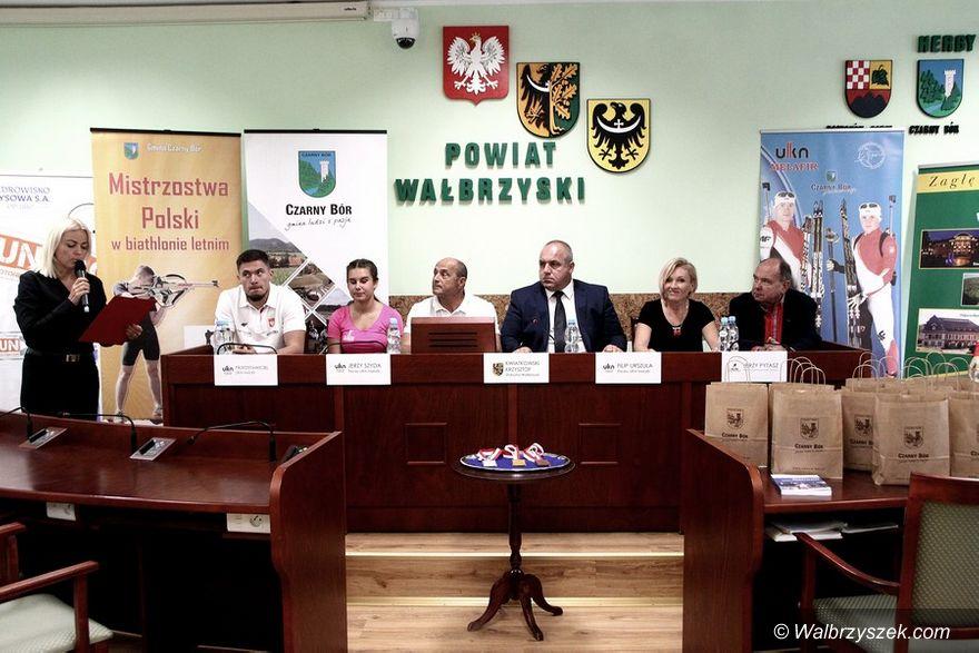 powiat wałbrzyski: Mistrzostwa w biathlonie