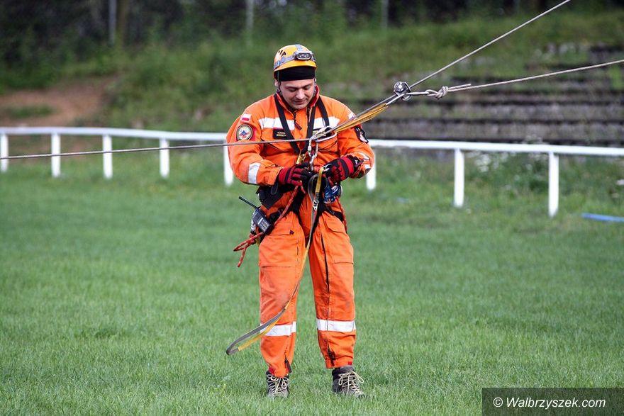 Wałbrzych: Ratownicy trenują