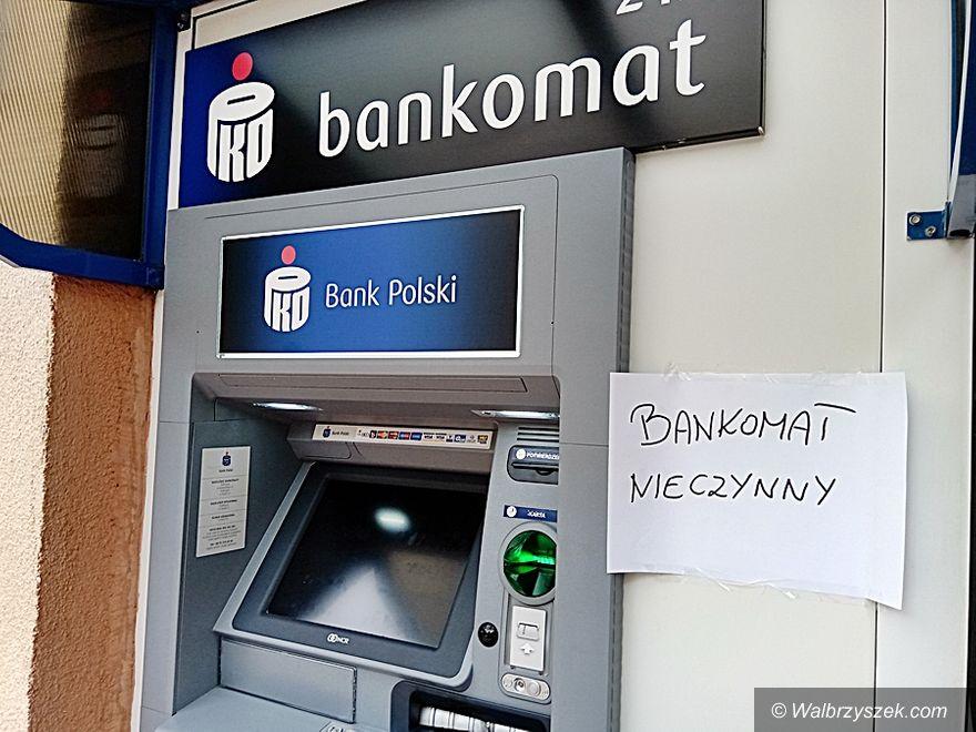 powiat wałbrzyski: Atak na bankomaty