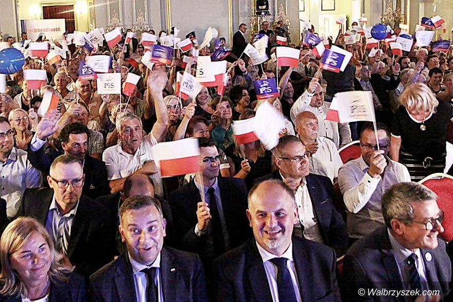 REGION, Szczawno-Zdrój: Konwencja PiS