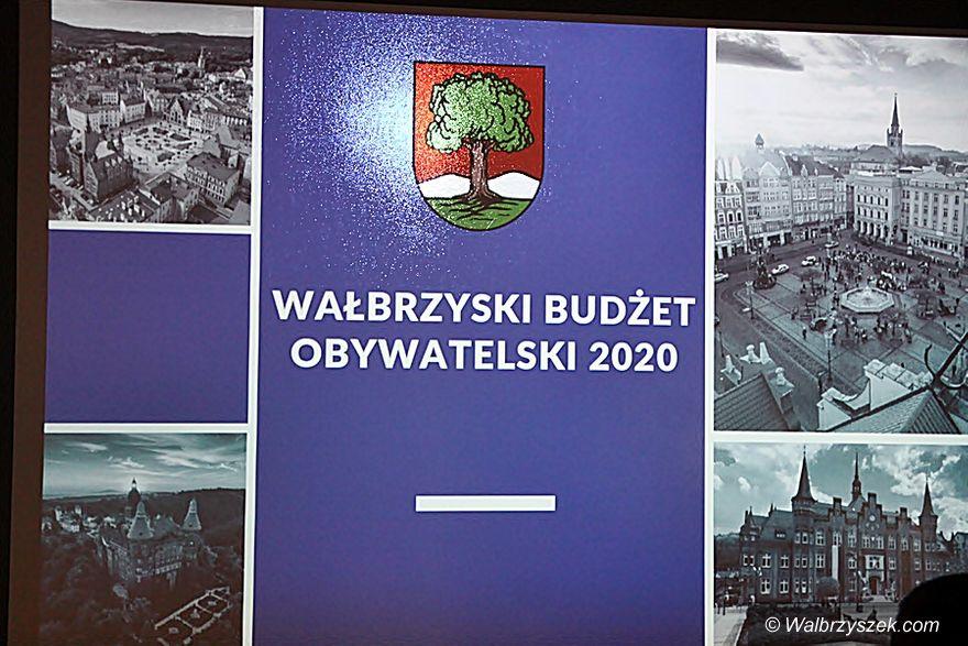 Wałbrzych: Budżet obywatelski