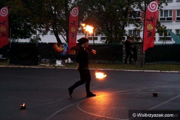 Wałbrzych: W centrum ogień
