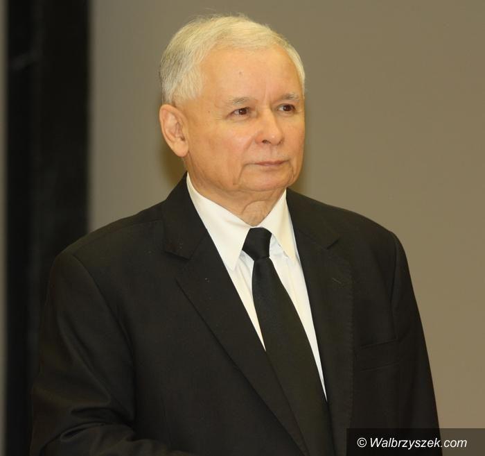 REGION, Szczawno-Zdrój/Wałbrzych: Przyjeżdża prezes Jarosław Kaczyński