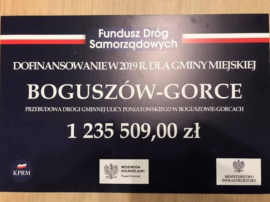 REGION, Boguszów-Gorce: Ruszają prace