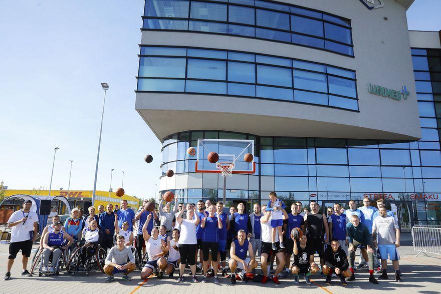 Wałbrzych: Street Ball w INVEST–PARKU