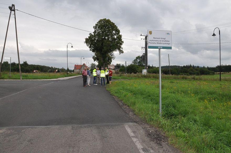 powiat wałbrzyski: Drogi po remontach