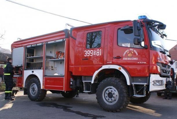 REGION, Stare Bogaczowice: Strażacy się cieszą