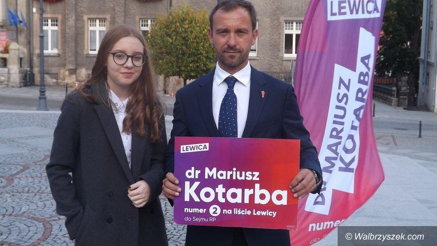 Wałbrzych/REGION: Kandydat Lewicy namawia do debaty