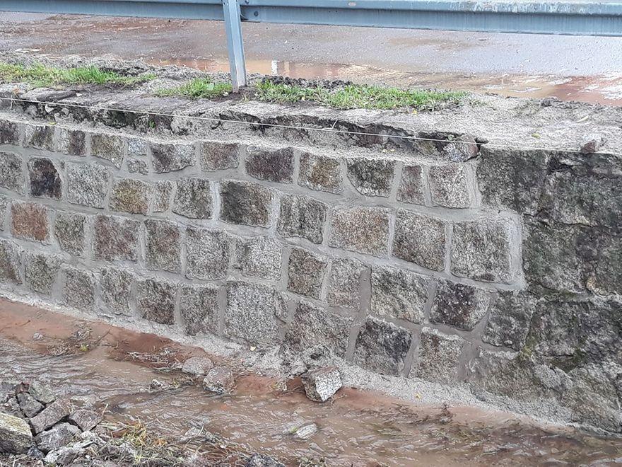 REGION, Stare Bogaczowice: Naprawili mur