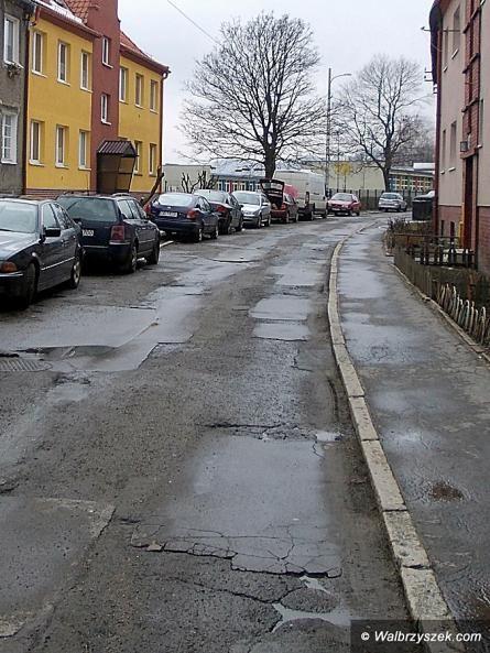 Wałbrzych: Wąskie ulice