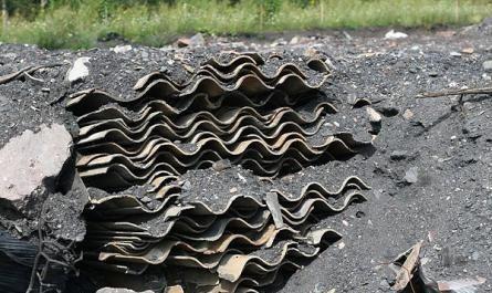 REGION, Mieroszów: Zdemontowali azbest