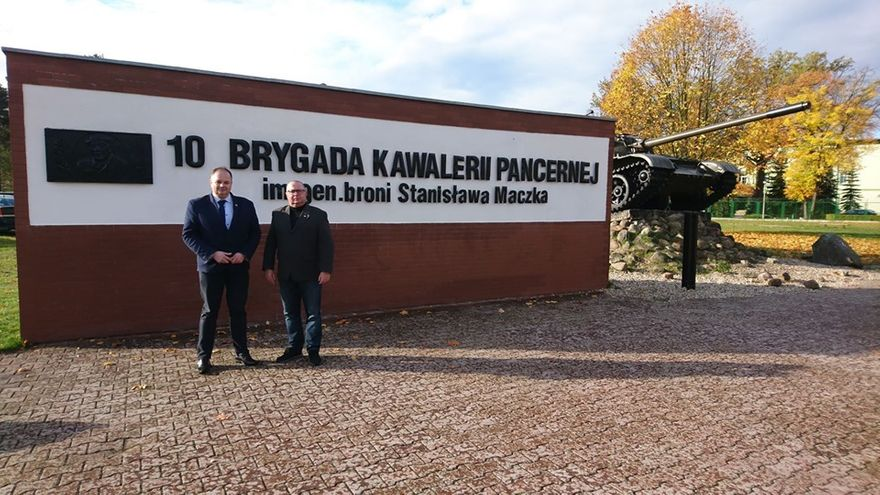 REGION, Boguszów-Gorce: Wizyta wojskowych