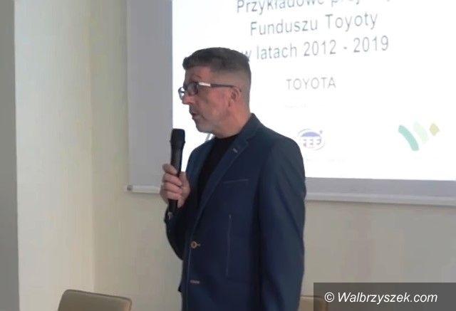 Wałbrzych/powiat wałbrzyski: Wsparcie Toyoty