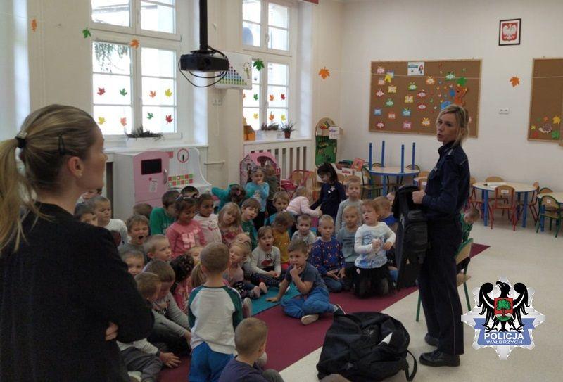 Wałbrzych: Spotkanie z przedszkolakami