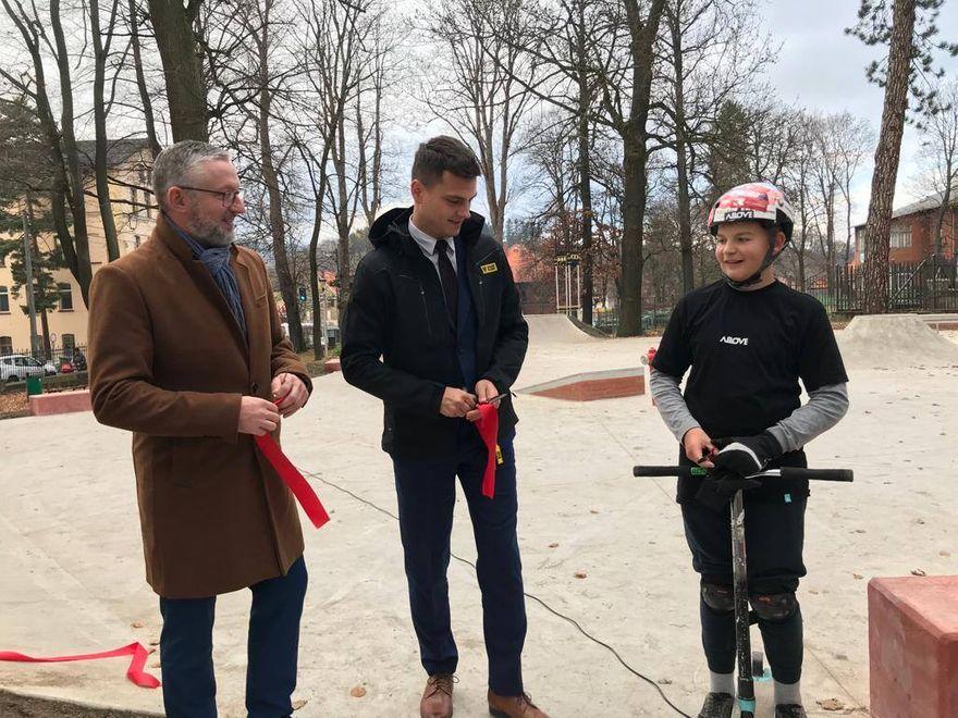 REGION, Głuszyca: Głuszyca ma skatepark