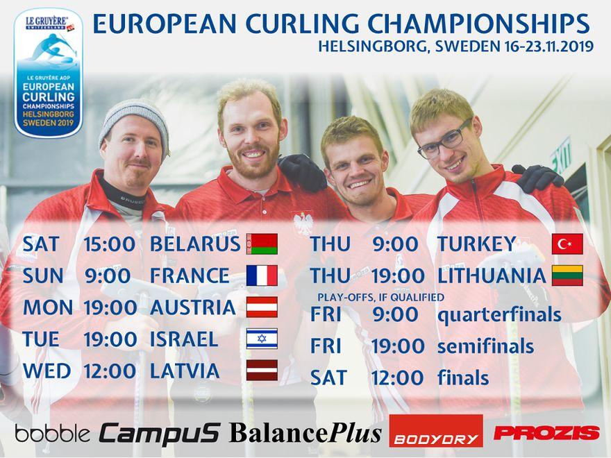 Europa: Wałbrzyszanin na mistrzostwach