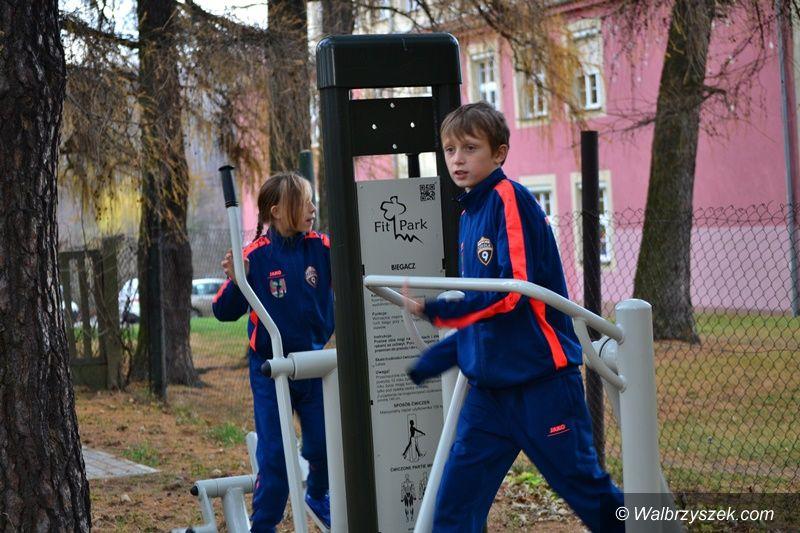 Wałbrzych: Plenerowa siłownia