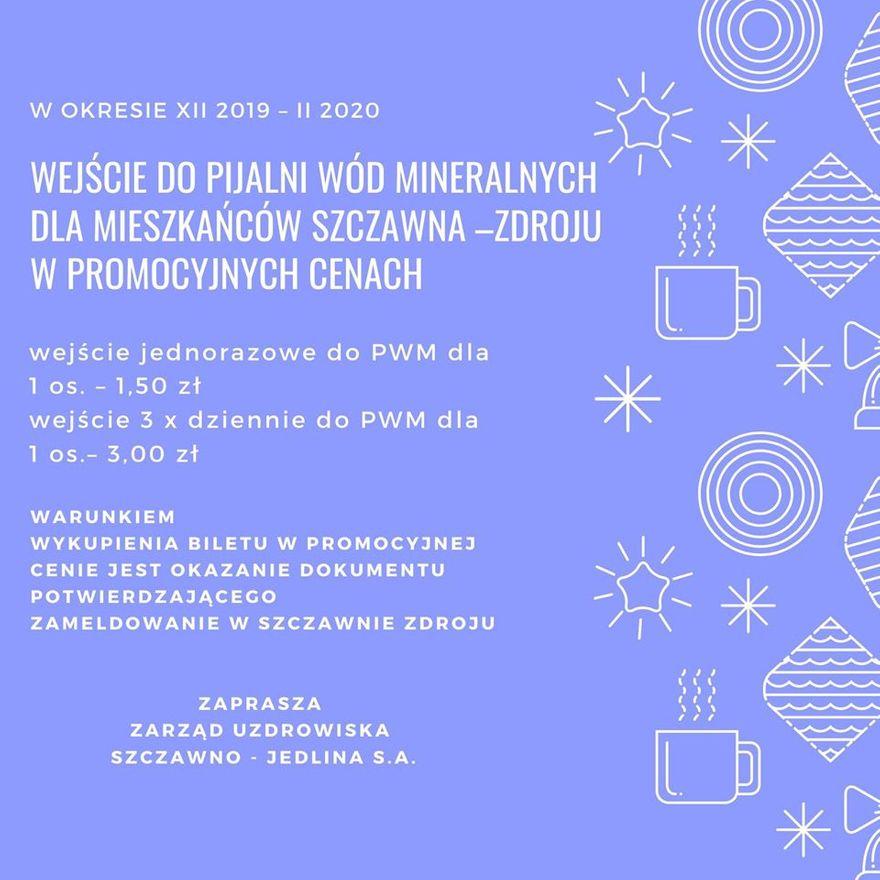 REGION, Szczawno-Zdrój: Taniej do pijalni