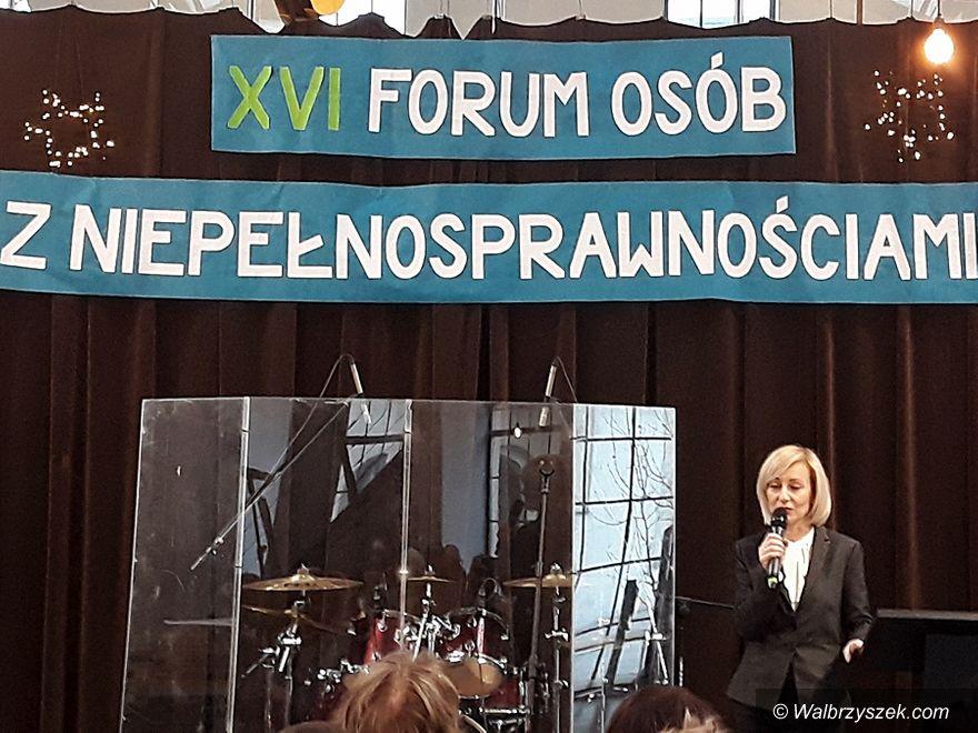 Wałbrzych: Forum Osób z Niepełnosprawnościami