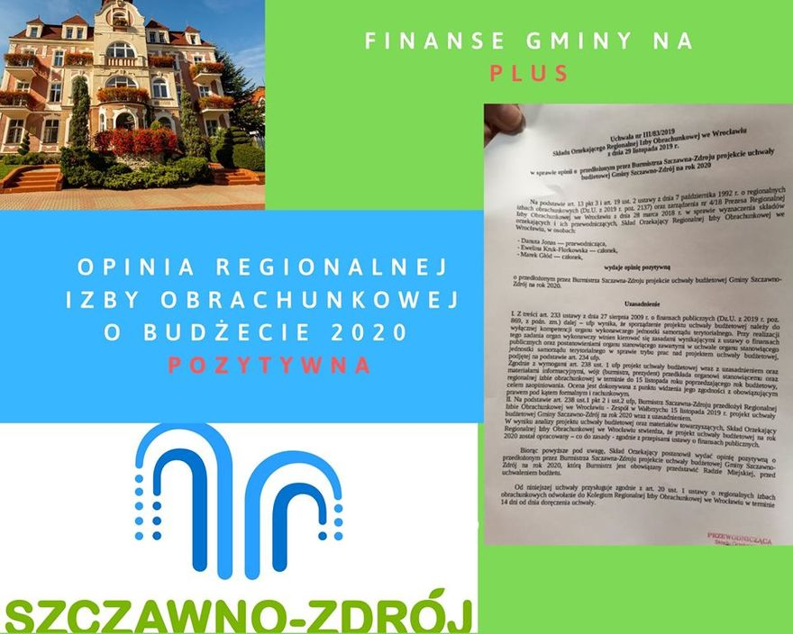 REGION, Szczawno-Zdrój: Pozytywna opinia