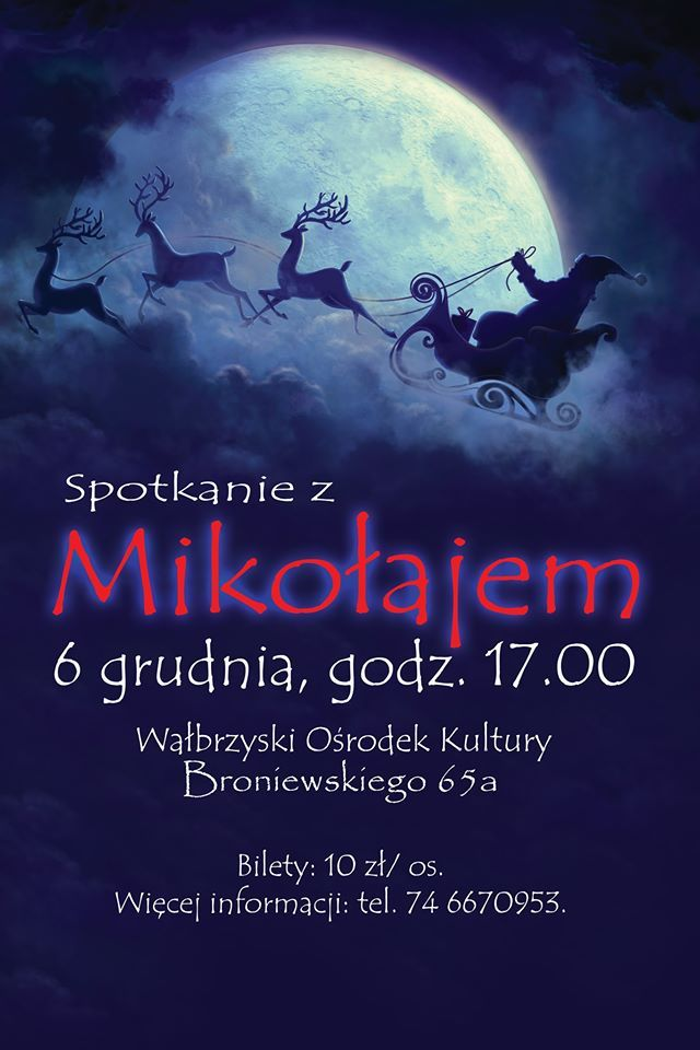 Wałbrzych: Mikołaj w WOK–u