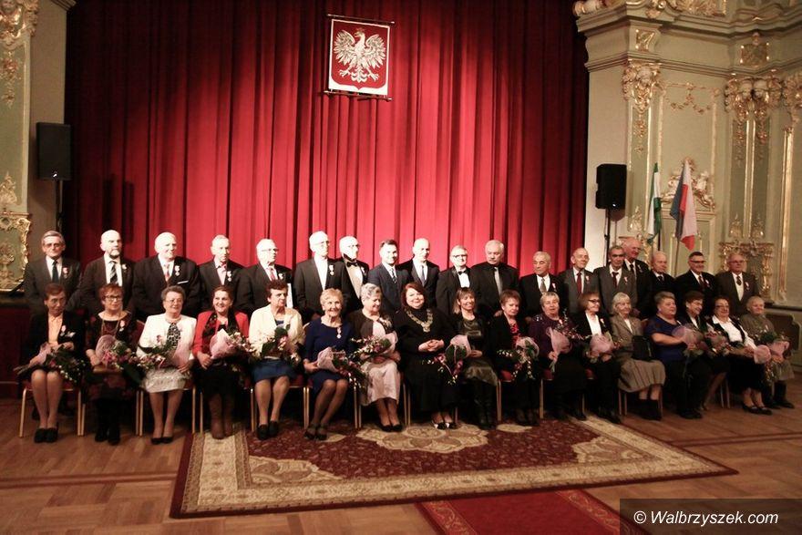 REGION, Szczawno-Zdrój: Jubileusze Małżeńskie