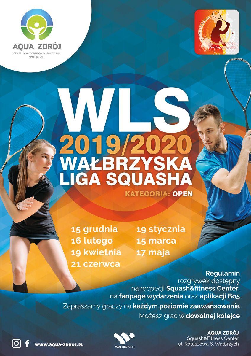 Wałbrzych: Liga squasha