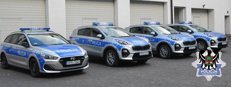 Wałbrzych/powiat wałbrzyski: Radiowozy dla policji