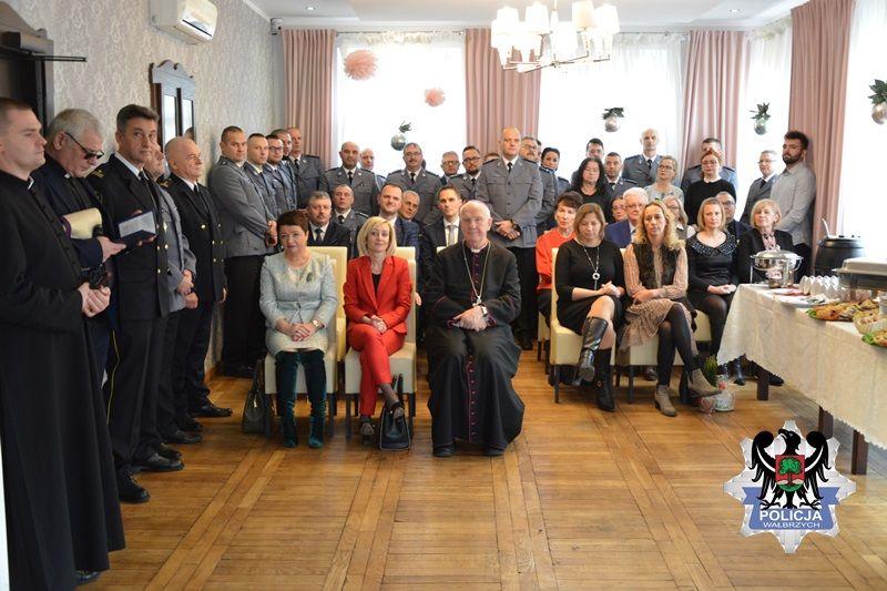 Wałbrzych: Wigilia u policjantów