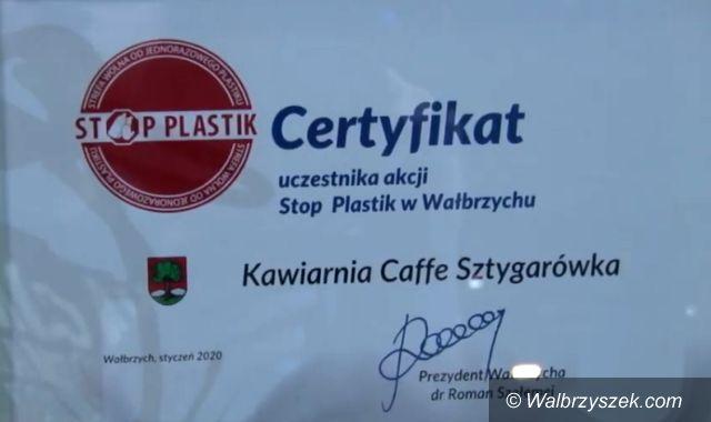 Wałbrzych: Certyfikat w nagrodę