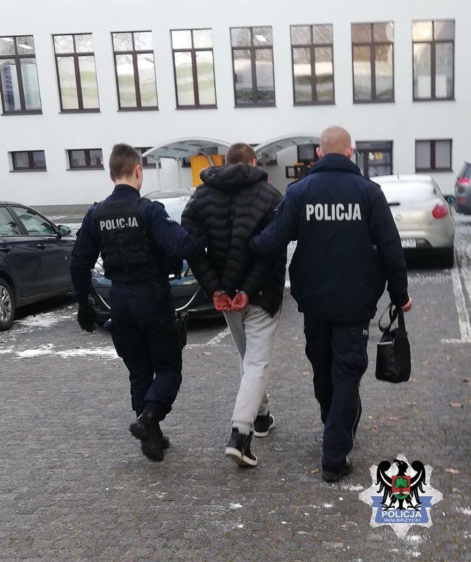 Wałbrzych: Areszt za narkotyki