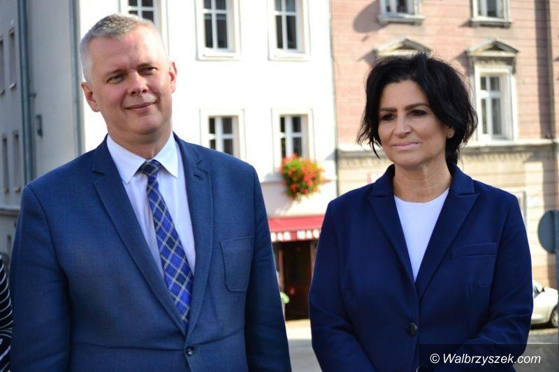 Wałbrzych/Kraj: Walka o władzę w PO