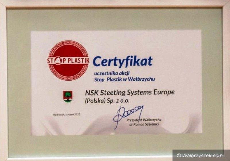 Wałbrzych: Certyfikat dla NSK